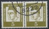BERL 199  gestempelt waagrechtes Paar
