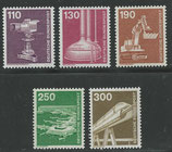 1134-1138  postfrisch  (BRD)