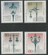 603-606  postfrisch  (BERL)