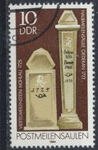 DDR 2853  philat. Stempel