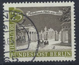 BERL  222 gestempelt