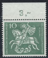 BRD 346 postfrisch mit Bogenrand oben