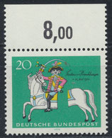 BRD 623 postfrisch mit Bogenrand oben