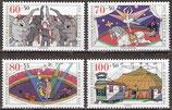 1411-1414 postfrisch (BRD)