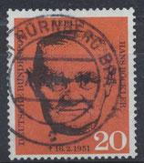 BERL 197 gestempelt