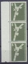 BERL 494 postfrisch Dreierstreifen Bogenrand links