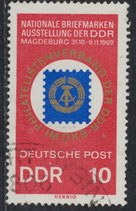 DDR 1477 gestempelt