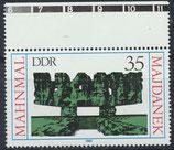 DDR 2538 postfrisch mit Bogenrand oben
