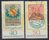980-981  gestempelt (BRD)