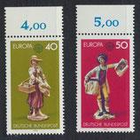 BRD 890-891 postfrisch mit Bogenrand oben