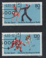 BERL 698-699 gestempelt