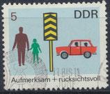 DDR 1444 philat. Stempel