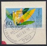 BRD 1174 gestempelt auf Briefstück