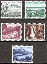 597-601 postfrisch (CH)