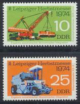 DDR 1973-1974 postfrisch