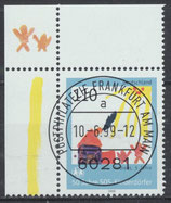 2062 gestempelt mit Eckrand links oben (BRD)