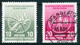 521-522 gestempelt (DDR)