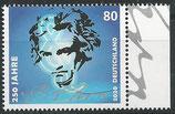 BRD 3513 postfrisch mit Bogenrand rechts