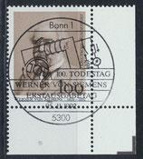 BRD 1642 gestempelt mit Eckrand rechts unten