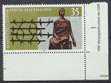 DDR 2356 postfrisch mit Eckrand rechts unten