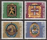1251-1254 postfrisch (CH)