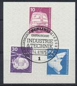 BERL 495+497+500  gestempelt mit Ersttagssonderstempel