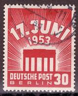BERL 111 gestempelt