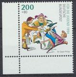 BRD 1730 postfrisch Eckrand links unten