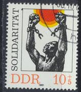 DDR 2648 philat. Stempel