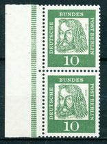 BERL 202 postfrisch, Paar aus Markenheftchen