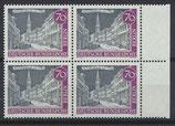 BERL 226 postfrisch Viererblock mit Bogenrand links