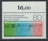 702 postfrisch Bogenrand oben (RWZ 16,00) (BERL)