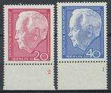 235-235 postfrisch mit Formnummer (BERL)