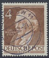 BERL 91  gestempelt