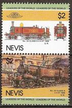 266--267 postfrisch (Nevis-Eisenbahn)