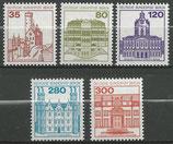 BERL 673A-677A  postfrisch