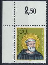 BRD 1055 postfrisch mit Eckrand links oben