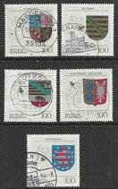 BRD 1712-1716 gestempelt