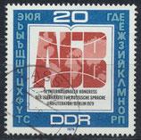 DDR 2444  philat. Stempel (2)