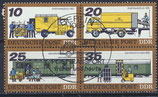 DDR 2299-2303 philat. Stempel Viererblock (2)