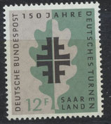 437  postfrisch (SAAR)
