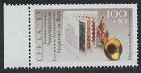 BRD 1415 postfrisch mit Bogenrand links