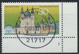 BRD 1722 gestempelt mit Eckrand rechts unten