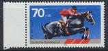 BRD 968 postfrisch mit Bogenrand links