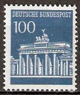 510 R postfrisch mit rückseitiger Zählnummer(BRD)