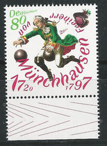 BRD 3546 postfrisch mit Bogenrand unten