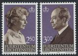 828-829  postfrisch (LIE)