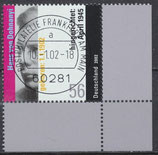 BRD 2233 gestempelt mit Eckrand rechts unten