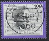 BRD 1637 gestempelt