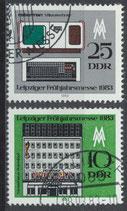 DDR 2779-2780  philat. Stempel